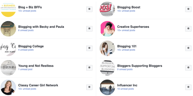Diversify Your Income - Facebook Groups