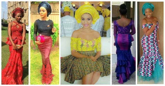 stunning Colorful Aso Ebi Styles amillionstyles.com