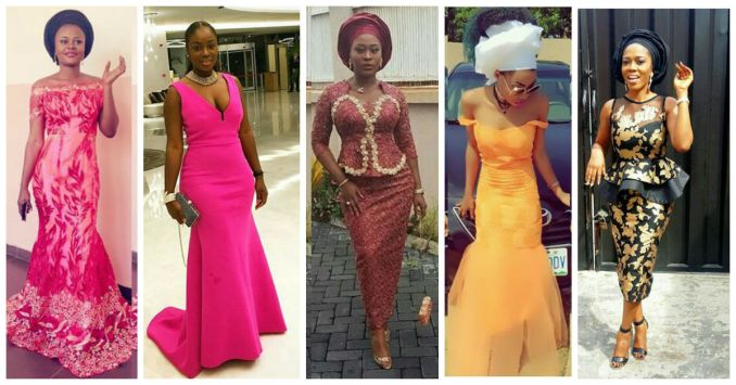 Outstanding Aso Ebi Worn Over The Weekend amillionstyles