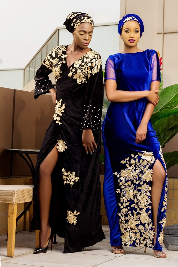 Kaftan collection From Nigerian designer Bibisquintessence