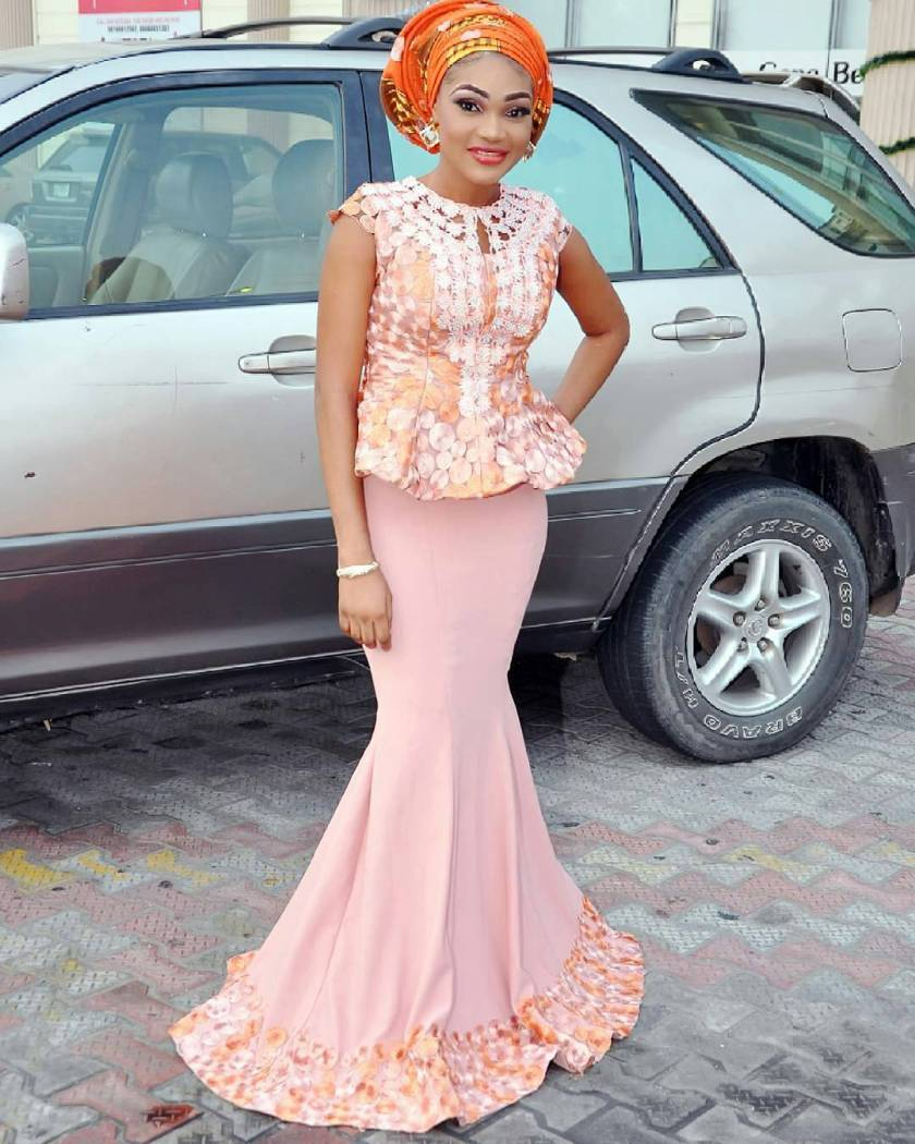 Certified Sexy Aso Ebi Styles From The Weekend.