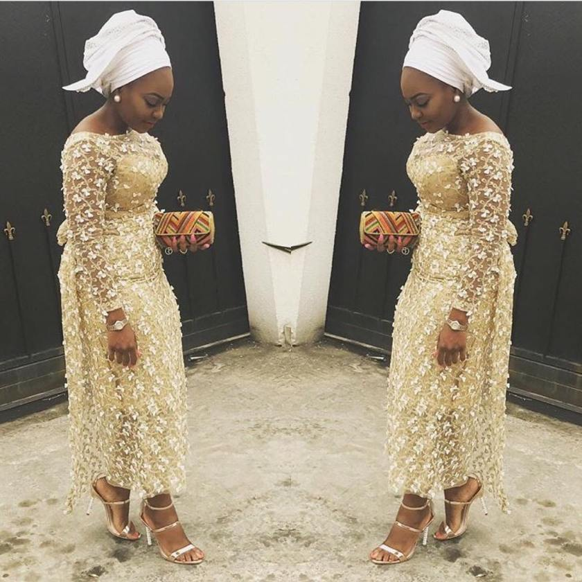 Beautifully slayed Aso Ebi Styles We Are Crushing On This Week