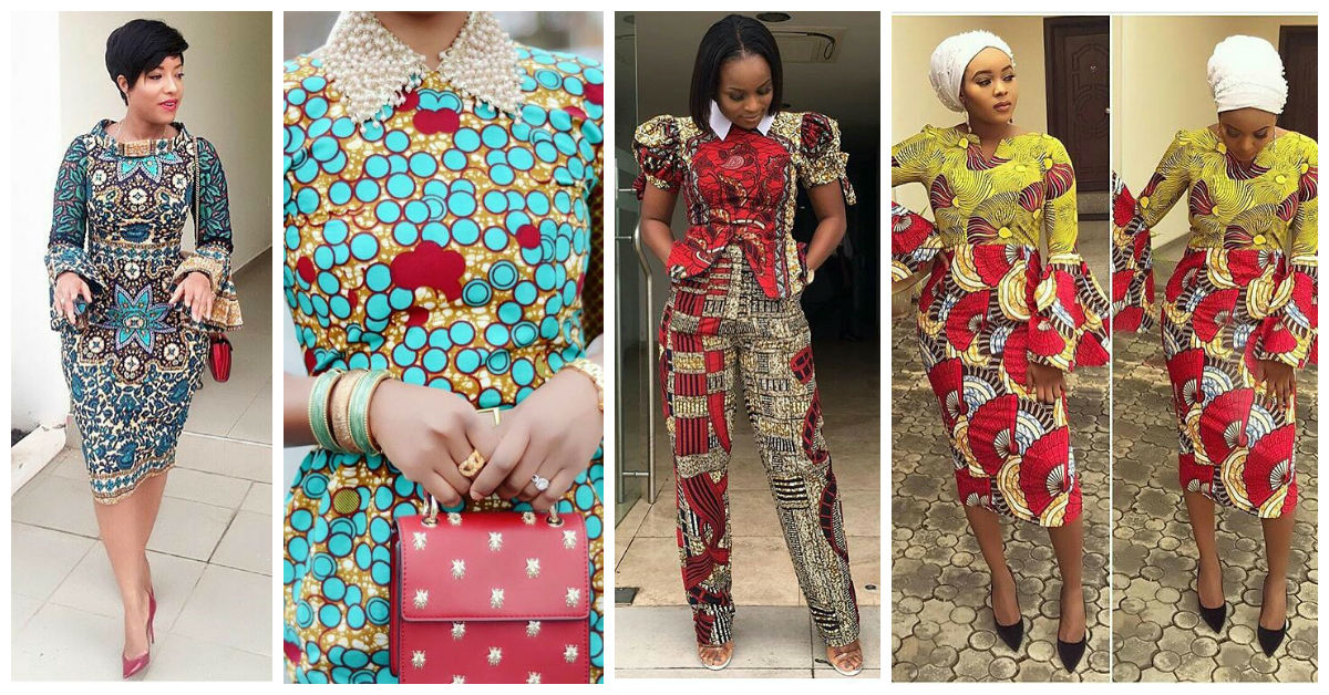 Ankara Outfits for Campus