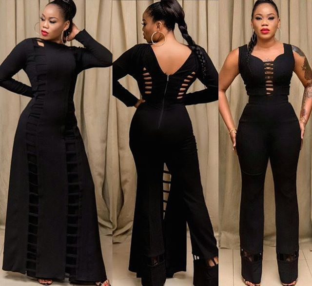 Image result for Toyin lawani in black