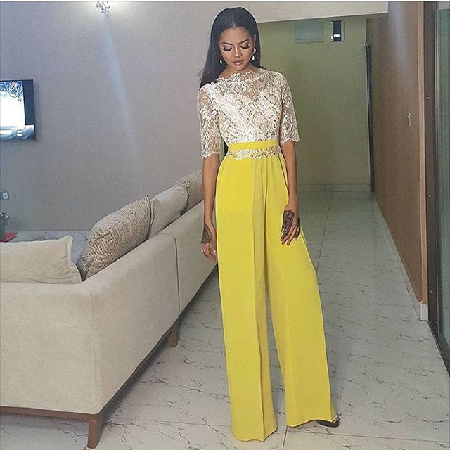 Jumpsuits by Nigerian Designers