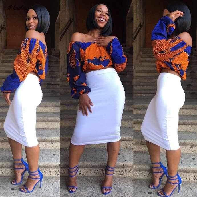 We Love These Beautiful Off Shoulder Ankara Tops Amillionstylescom