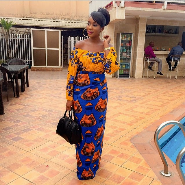 Be Inspired by these Mix and Match Ankara Styles of Destiny!