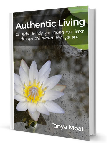Authentic Living: 25 Quotes to Unleash Your Inner Strength and Discover Who You Are. Now on sale at Amazon for $1.99