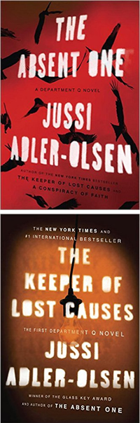 The Keeper of Lost Causes and The Absent One by Jussi Adler-Olsen