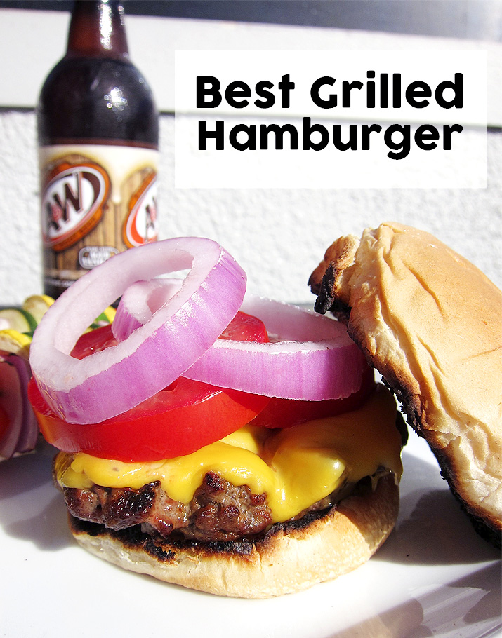 Best Grilled Hamburgers