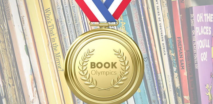 """""""Book Olympics: My Gold Medal Books"""" is locked Book Olympics: My Gold Medal Books"""