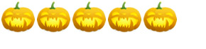 5 Pumpkins: Rated Super Scary