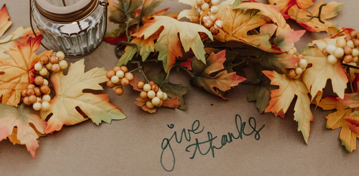 Let's Give Thanks because Hey - We're Still Alive