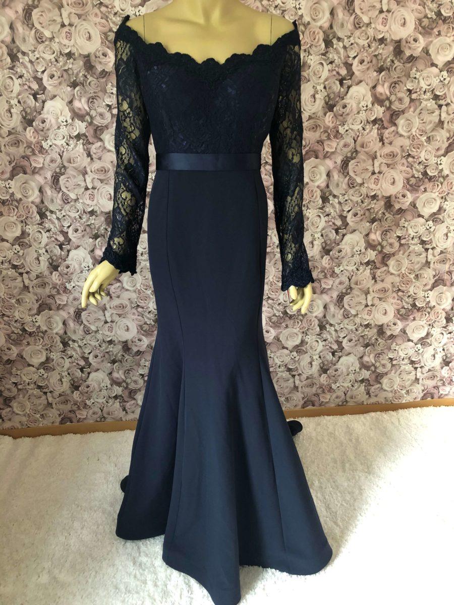 Elegantes Meerjungfrauen-Kleid ✔ Abendkleid in Übergröße✔