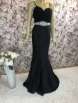 Abendkleid Satin