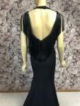 Meerjungfrauenkleid schwarz