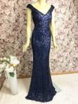 Elegantes Abendkleid Blau