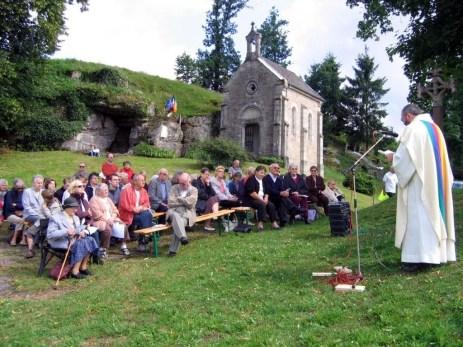 Le père Jean-Paul Guyot présidait la célébration