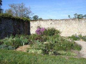 Vue des jardins (en cours de restauration)