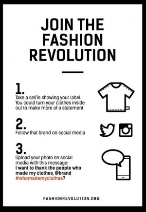 How to Join the Fashion Revolution