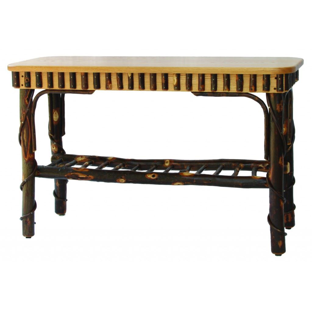 Rustic Solid Top Sofa Table Amish Crafted Furniture