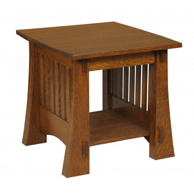 Craftsman Mission 88 End Table Amish Crafted Furniture