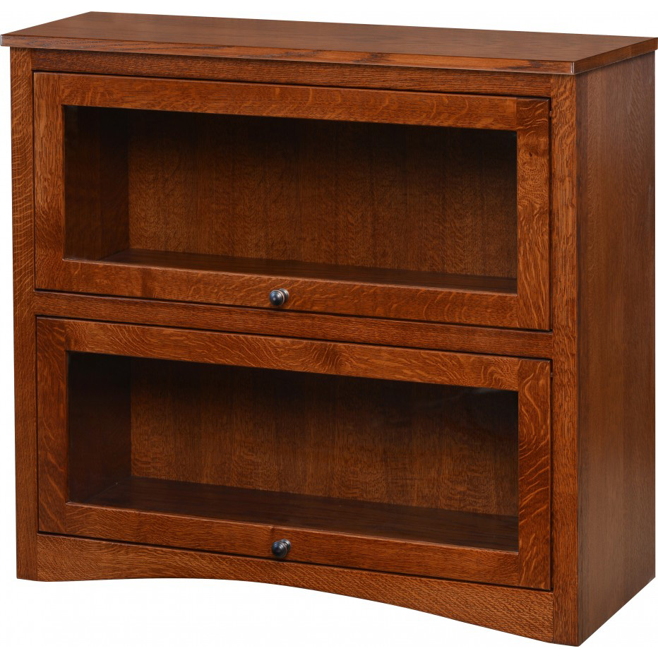 Two Door Lawyers Bookcase Amish Crafted Furniture