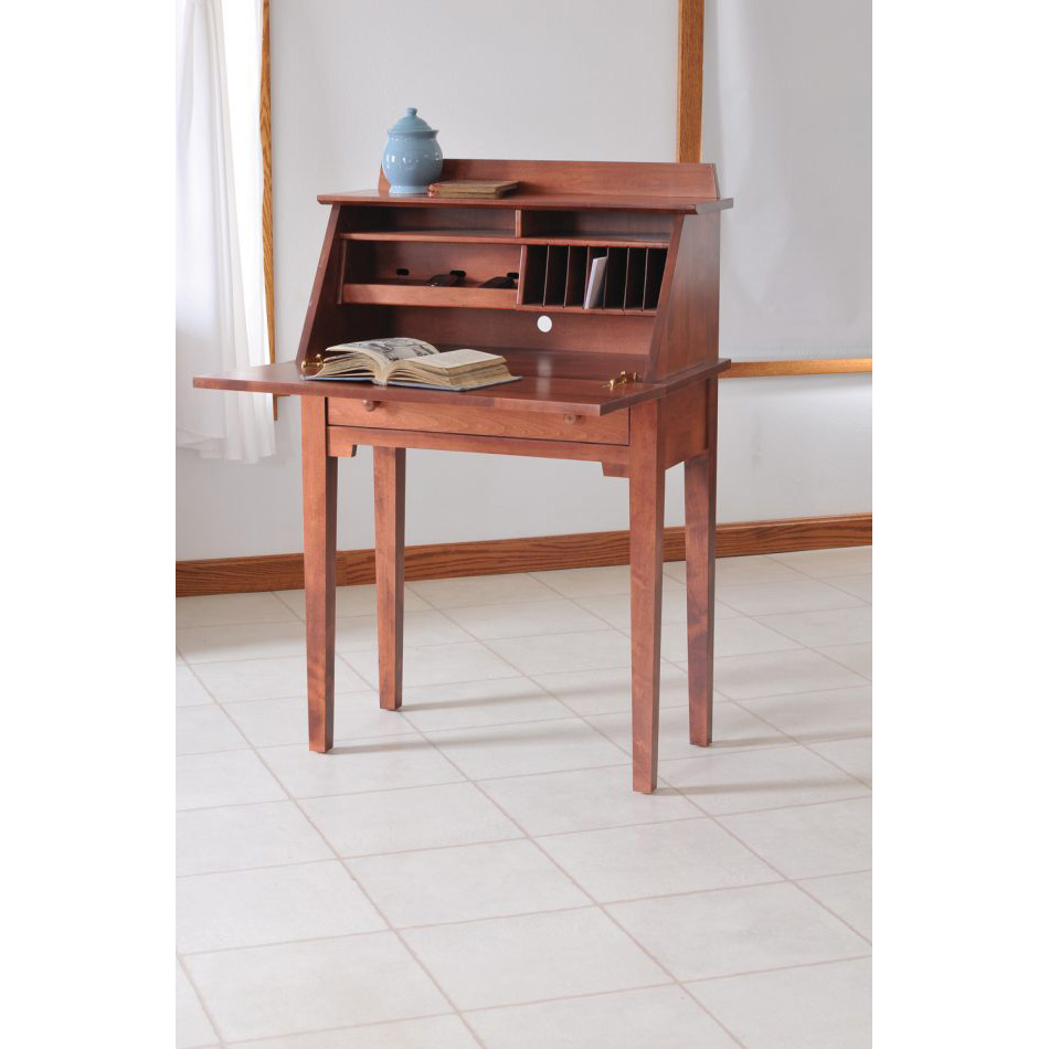 Shaker Media Writing Desk Amish Crafted Furniture
