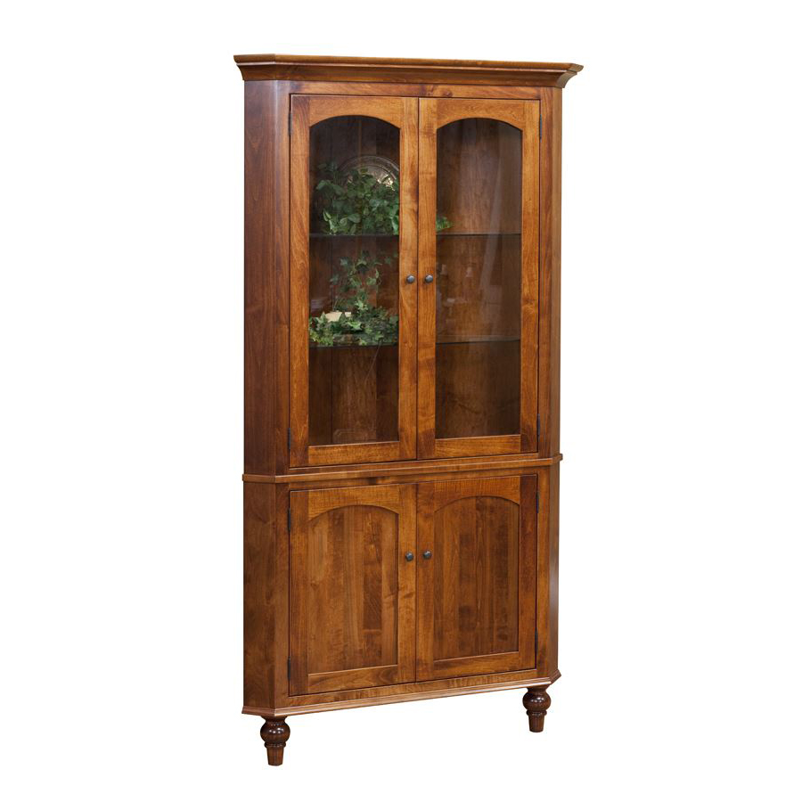 Spring Valley Collection Corner Hutch Amish Crafted