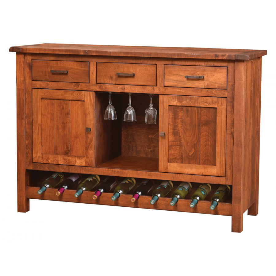 Adele Wine Cabinet 356 Amish Crafted Furniture