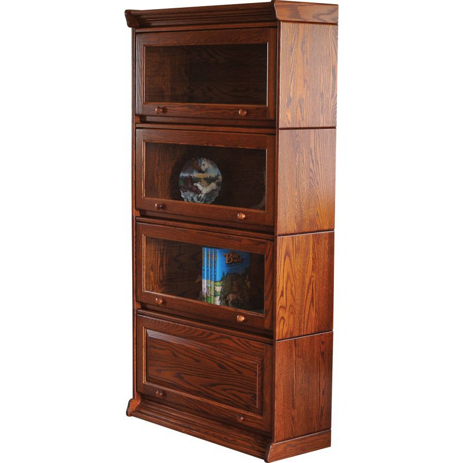 Barrister Stackable Bookcase Amish Crafted Furniture