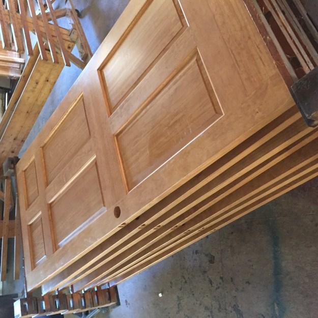 wp finished pine doors