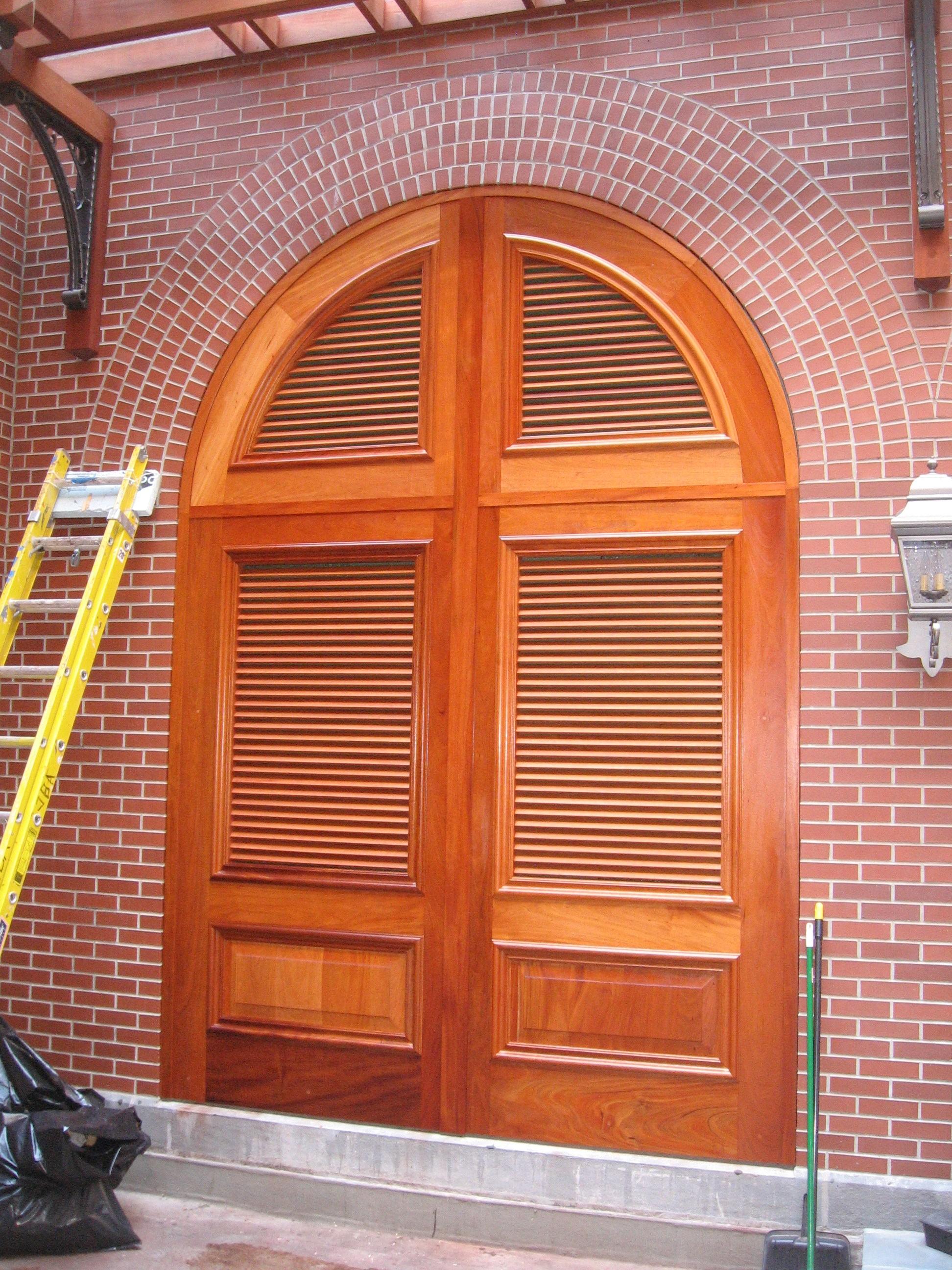 Custom Arched Interior Doors And Custom Round Top Interior