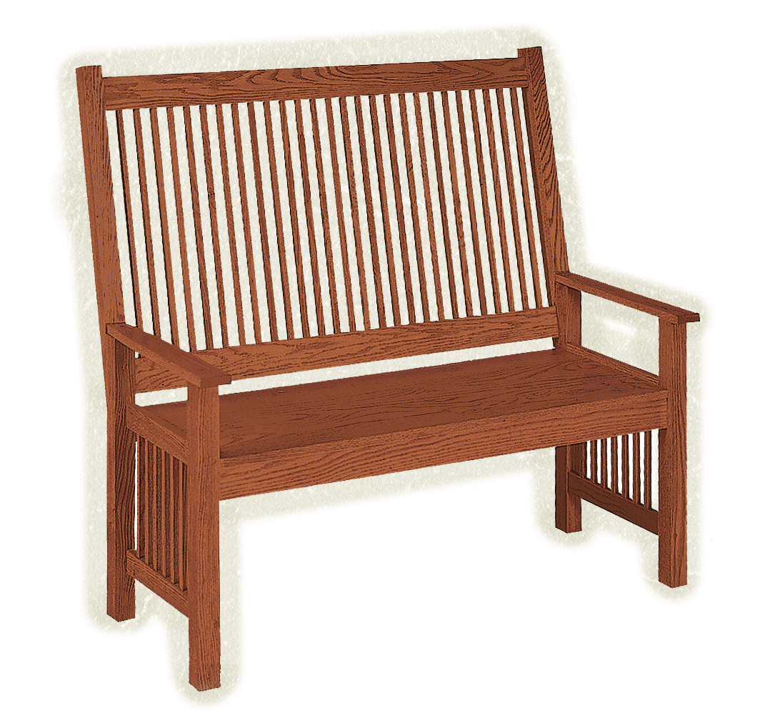 Deacon Bench Amish Furniture Connections Amish