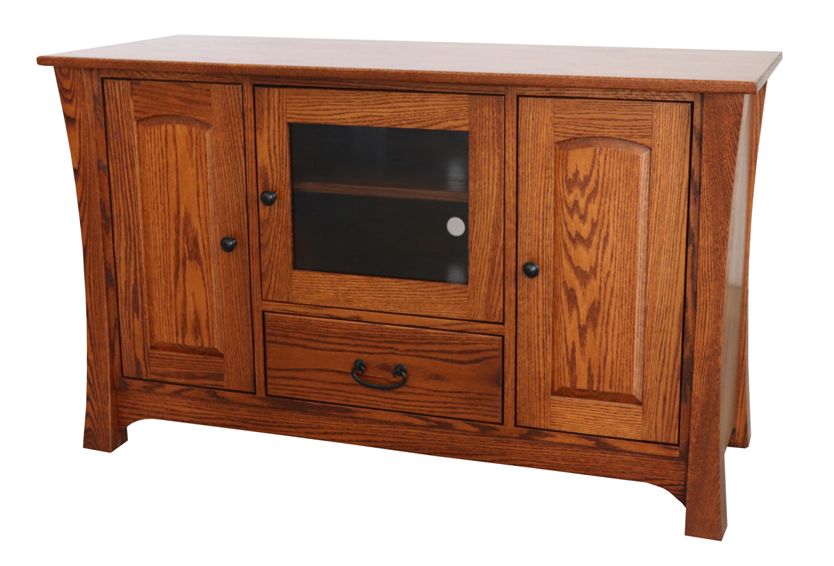 Solid Wood Mission Style Desk