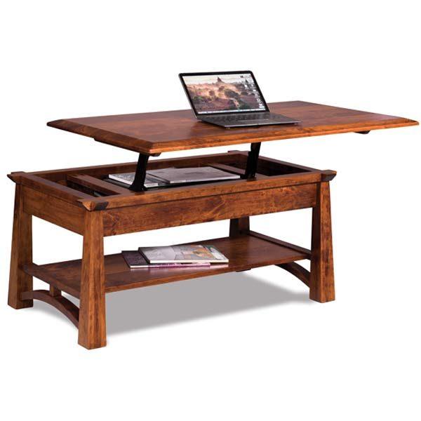 artesa lift top coffee table fvct a lt