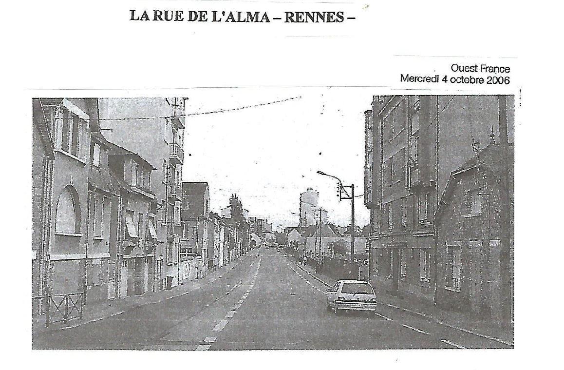 rue de l alma en 2006 les amis du patrimoine rennais
