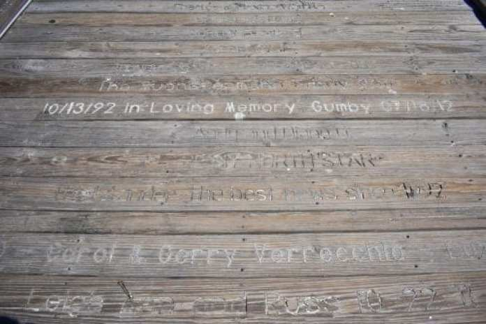 Anna Maria City Pier Planks