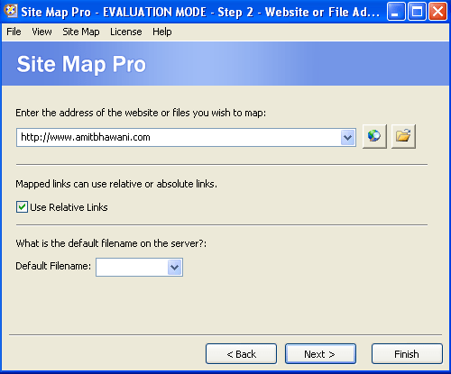 Map Website Yahoo Sitemaps Tool