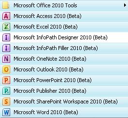 Ms Office 2010 Programs