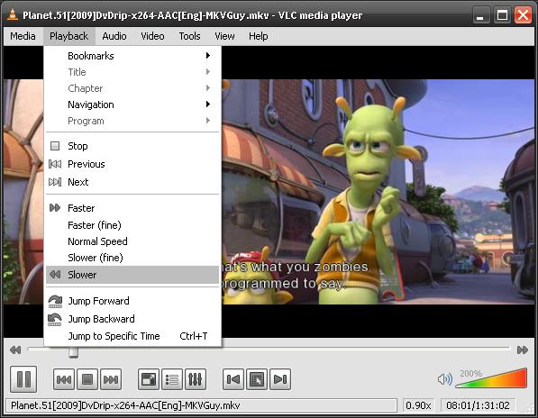 VLC Media Player Plays All Video Formats