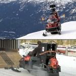 Google Maps Snow Mobile