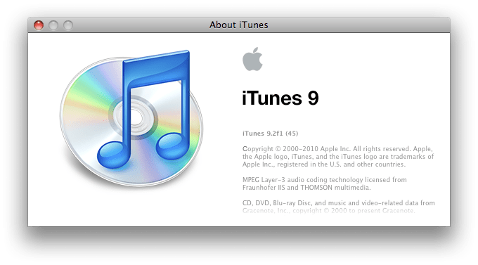 Download Apple iTunes 9 2 Beta for Mac OS