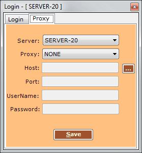 Proxy Server Selection TradeTiger