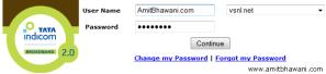 How do i Renew my Tata Indicom Broadband Account