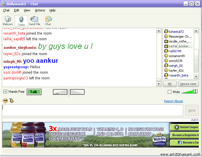 Free One On One Chat Rooms