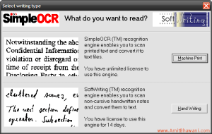 Simple OCR Software