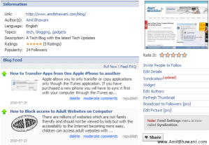 How to Automatically update Blog posts directly to Facebook