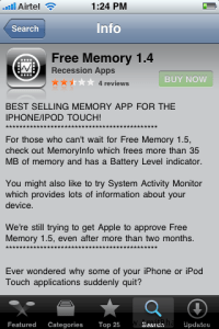 Increase iPhone Free Memory to Avoid iPhone Apps Crash