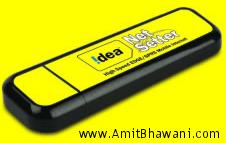 Idea Data Card NetSetter USB Plans & Features